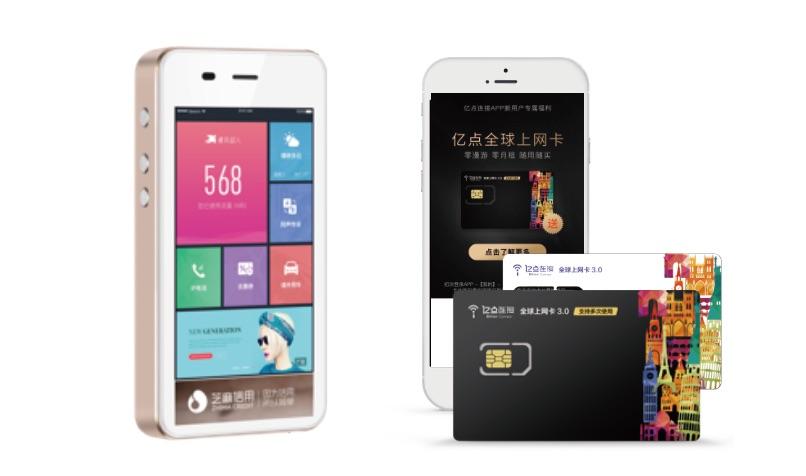 中国 WiFi SIMカード 広告